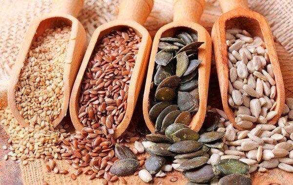 Семечки и зерна