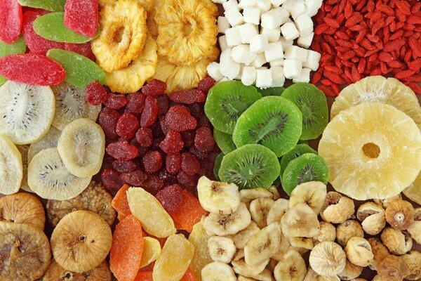 Засушенные фрукты